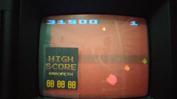BabofetH: Asteroids (Atari 2600 Expert/A) 931,500 points on 2020-09-01 20:15:24
