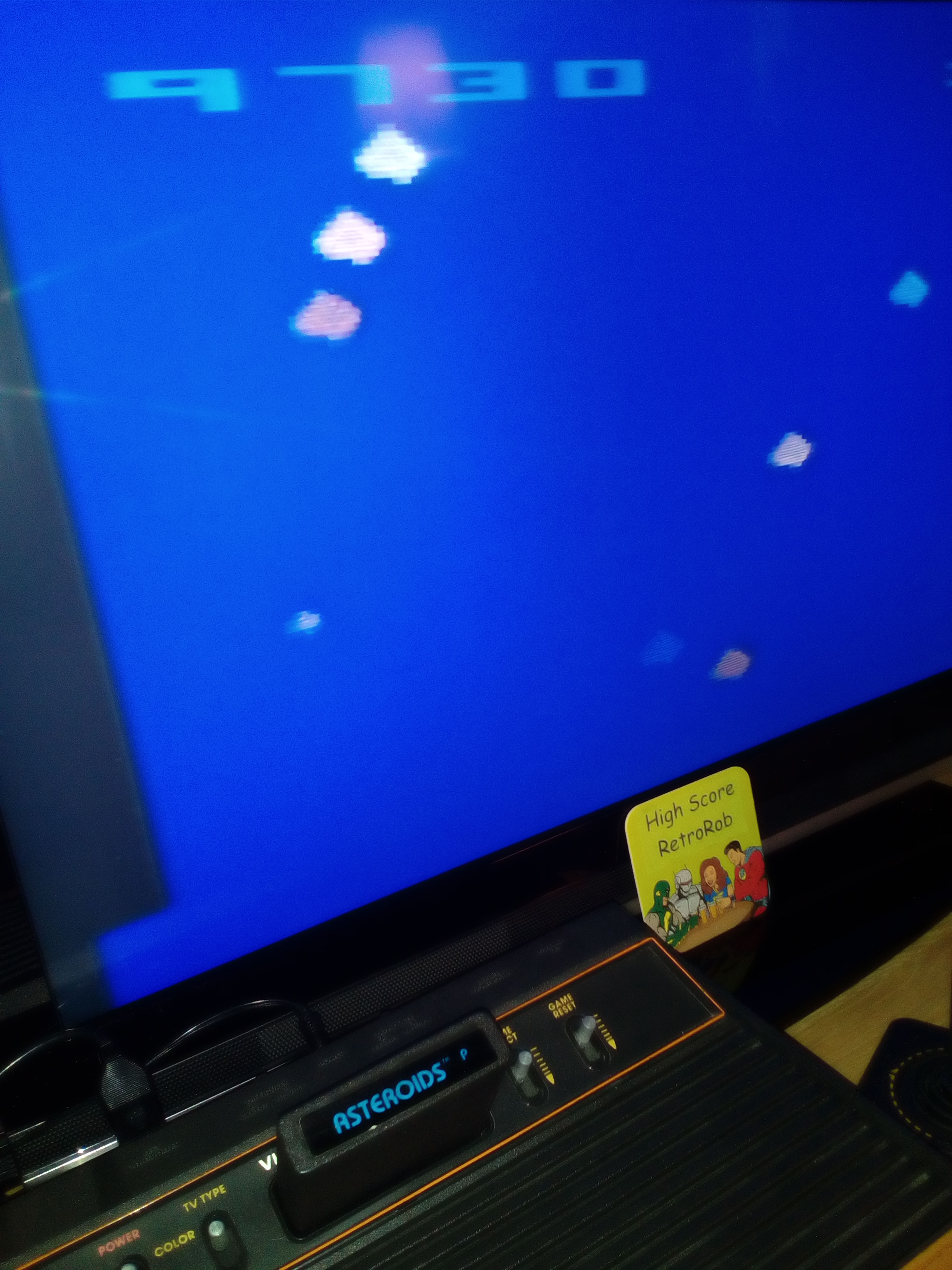 atari asteroids high score - HD 2448×3264