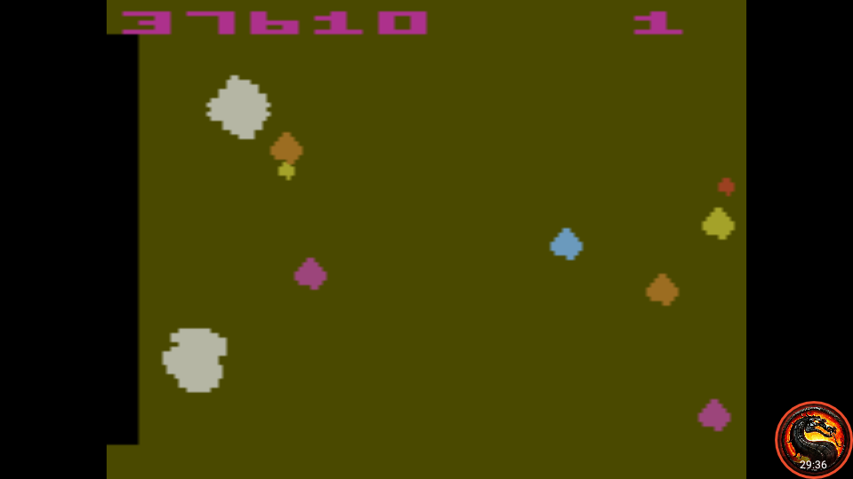 omargeddon: Asteroids (Atari 2600 Emulated Novice/B Mode) 137,610 points on 2020-10-11 18:35:25