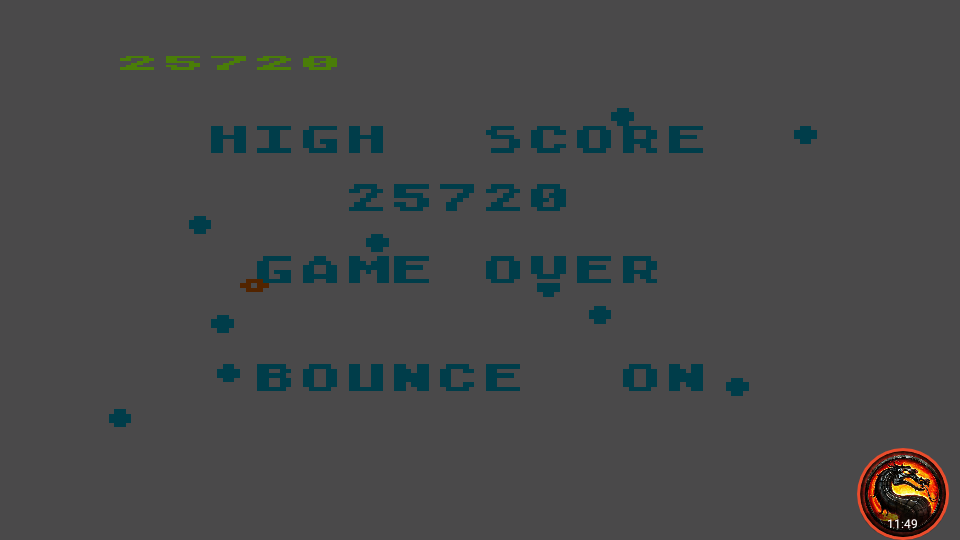 omargeddon: Asteroids (Atari 5200 Emulated) 25,720 points on 2020-03-19 01:47:37