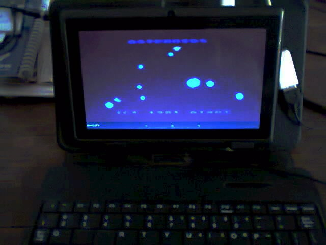 ecworiginal: Asteroids: Default (Atari 400/800/XL/XE Emulated) 4,870 points on 2016-04-23 10:09:26