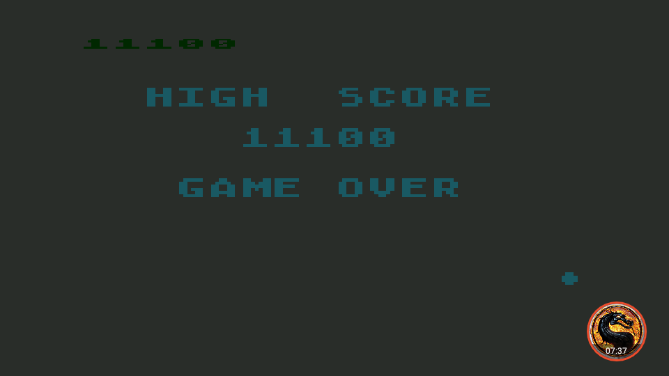 omargeddon: Asteroids: Default (Atari 400/800/XL/XE Emulated) 11,100 points on 2019-02-20 02:57:43