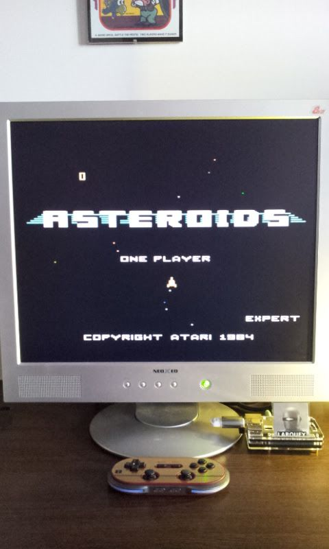 Larquey: Asteroids: Expert (Atari 7800 Emulated) 7,450 points on 2017-02-17 08:14:08