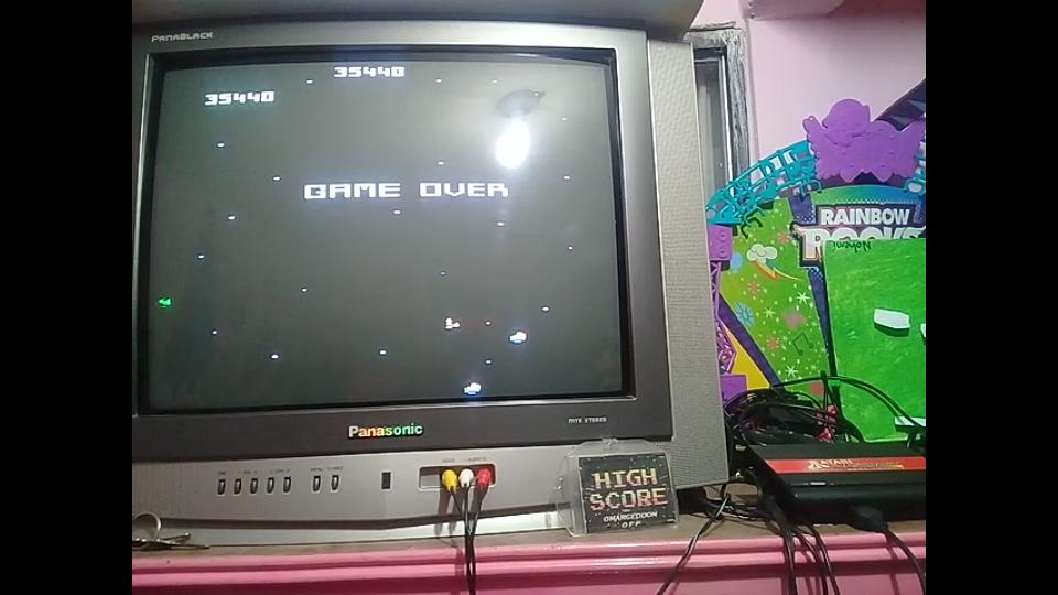 omargeddon: Asteroids: Expert (Atari Flashback 1) 35,440 points on 2019-01-14 00:14:49