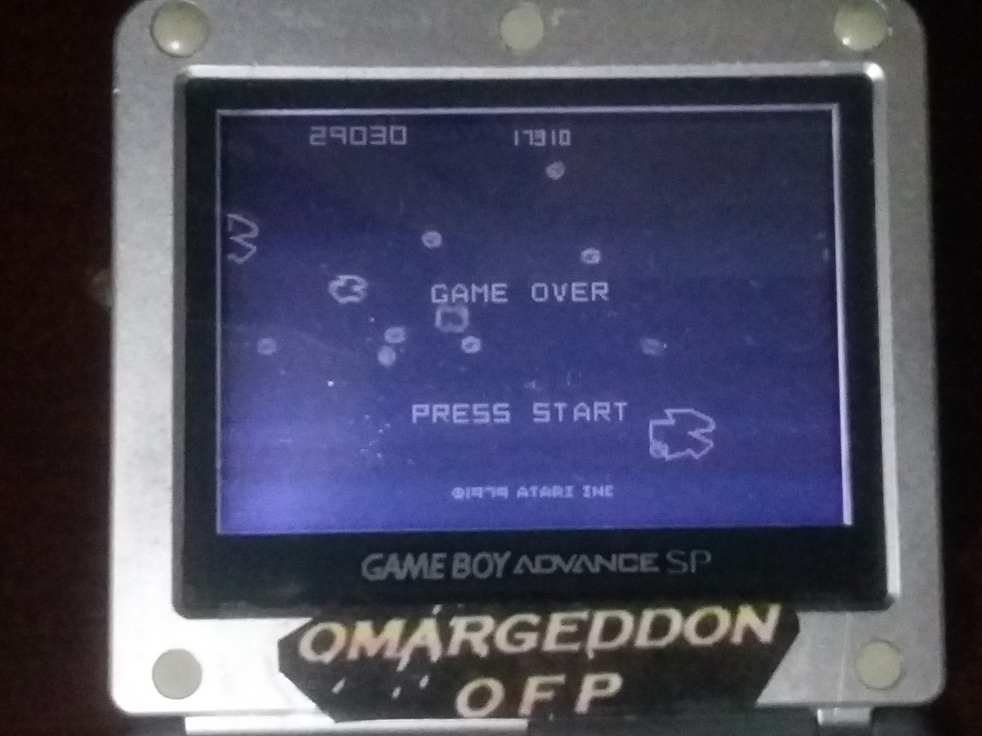omargeddon: Asteroids (GBA) 29,030 points on 2018-01-25 21:59:01