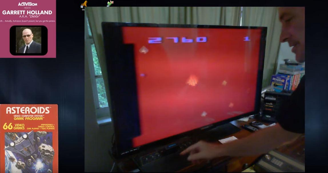 ZilchSr: Asteroids: Game 3 (Atari 2600 Novice/B) 502,760 points on 2019-08-10 18:06:11
