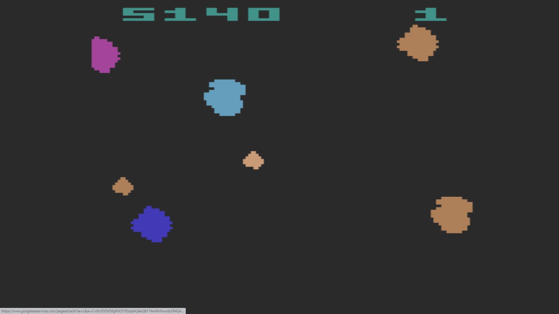 AkinNahtanoj: Asteroids: Game 3 (Atari 2600 Emulated Novice/B Mode) 5,140 points on 2020-10-11 13:57:08