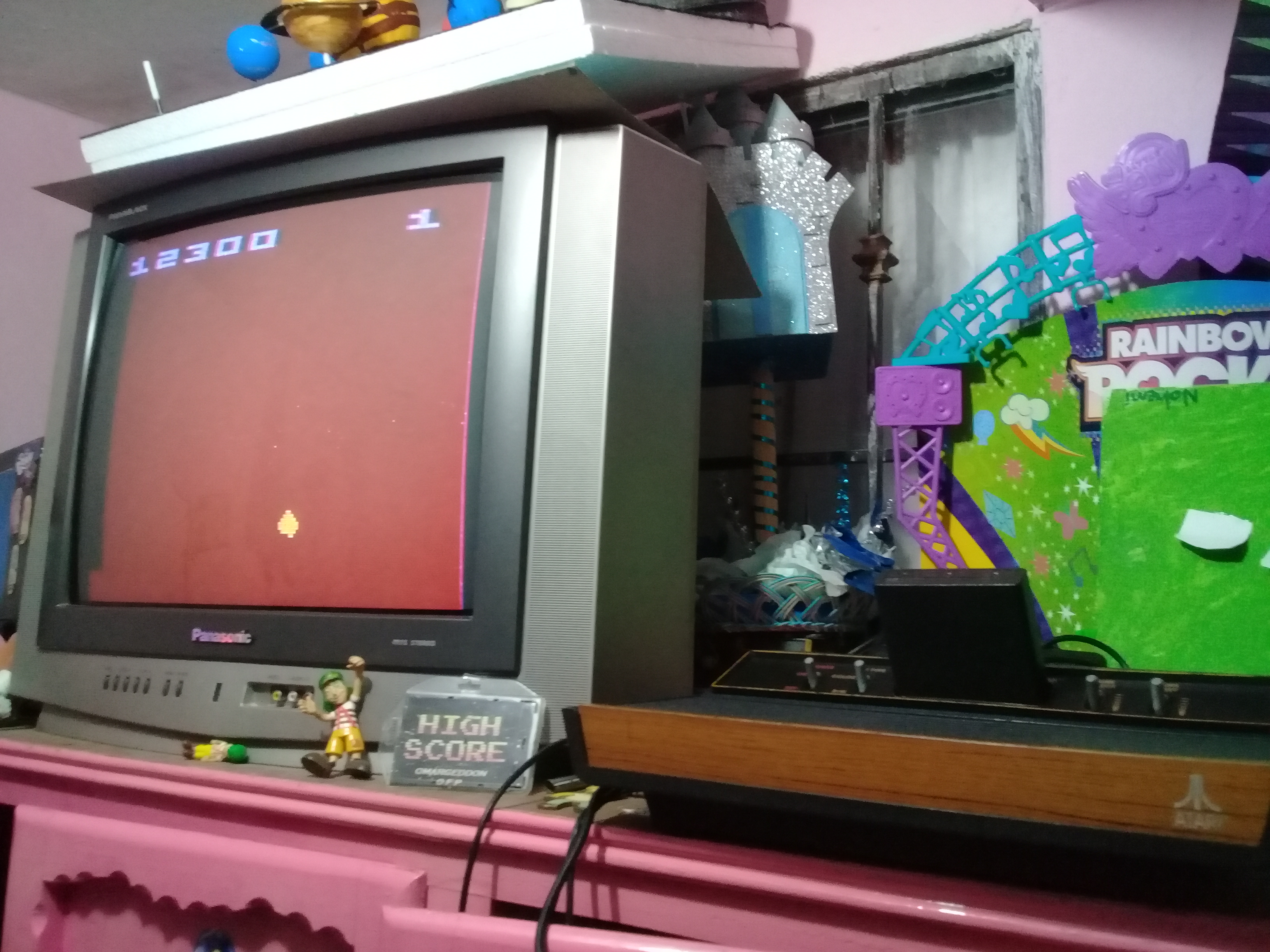 omargeddon: Asteroids: Game 32 (Atari 2600 Expert/A) 12,300 points on 2019-01-07 21:06:20
