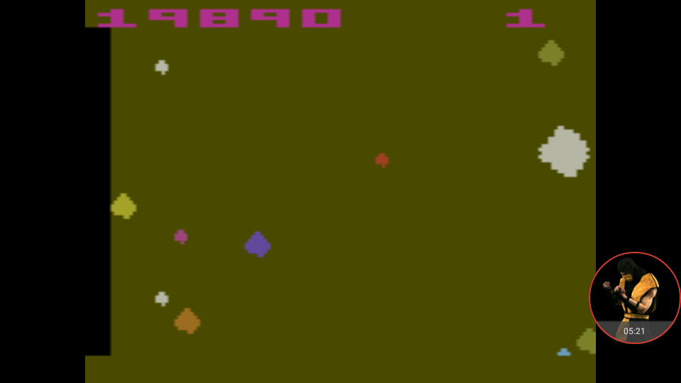 omargeddon: Asteroids: Game 32 (Atari 2600 Emulated Novice/B Mode) 19,890 points on 2018-01-07 00:12:42