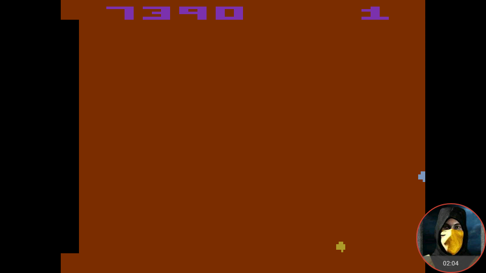 omargeddon: Asteroids: Game 6 (Atari 2600 Emulated Expert/A Mode) 7,390 points on 2018-02-20 23:45:58