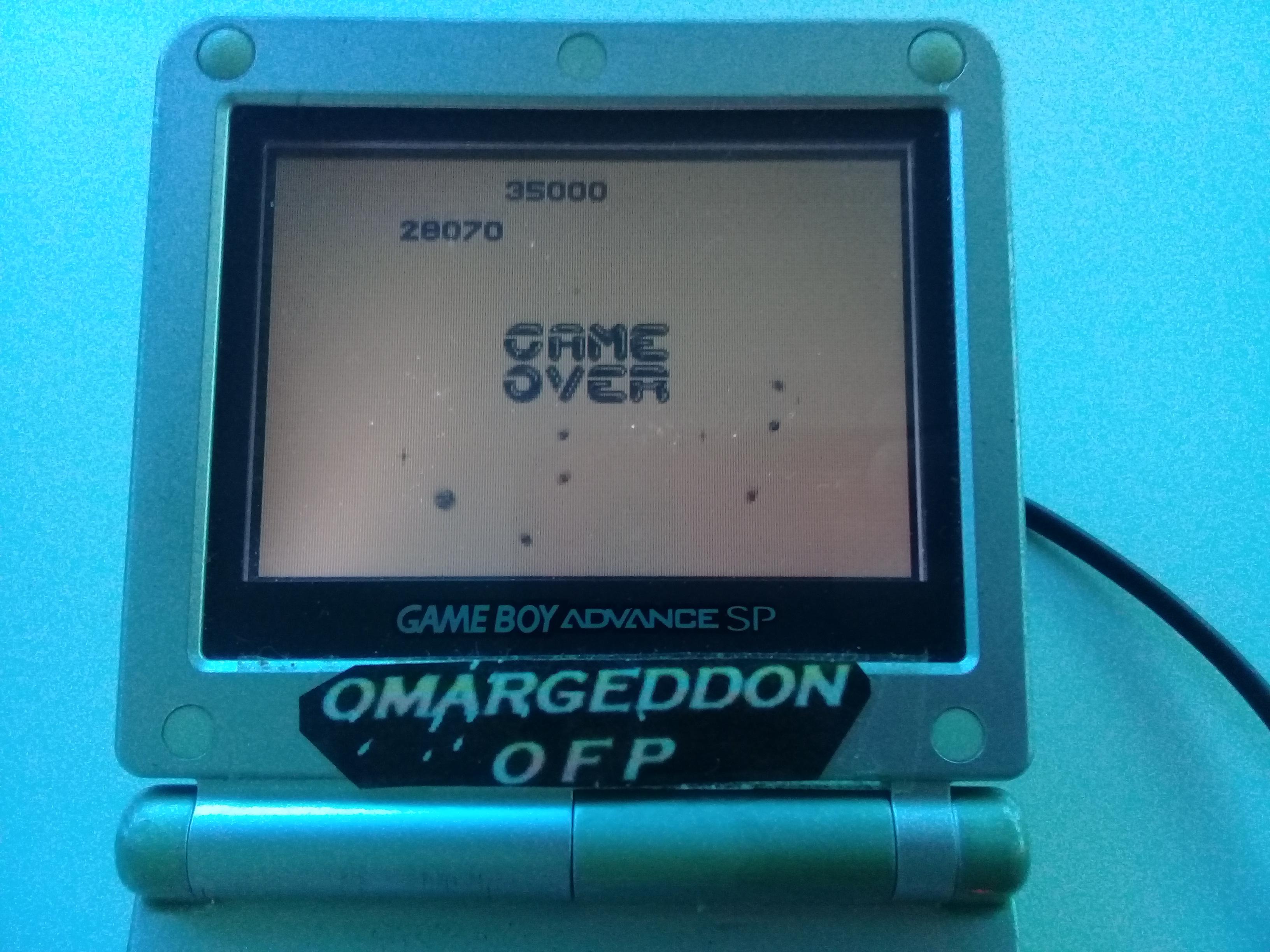 omargeddon: Asteroids (Game Boy) 28,070 points on 2019-05-19 15:06:48