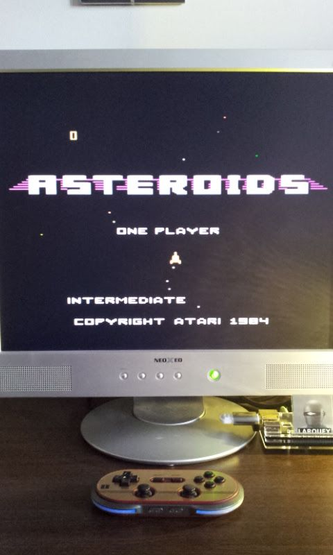 Larquey: Asteroids: Intermediate (Atari 7800 Emulated) 13,000 points on 2017-02-17 08:10:57