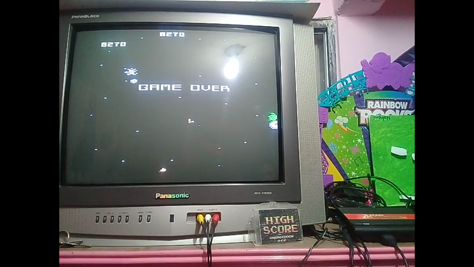 omargeddon: Asteroids: Intermediate (Atari Flashback 1) 8,270 points on 2019-01-13 21:32:38
