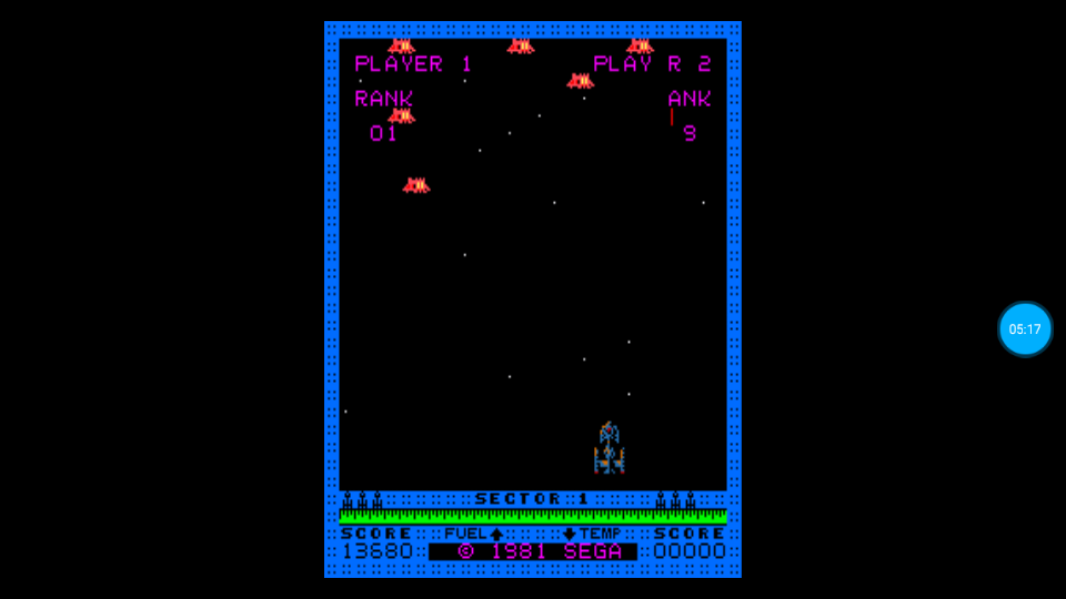 omargeddon: Astro Blaster (Arcade Emulated / M.A.M.E.) 13,680 points on 2018-07-10 23:44:33