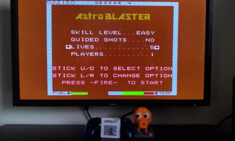 Astro Blaster [Easy/5 Lives] 22,150 points