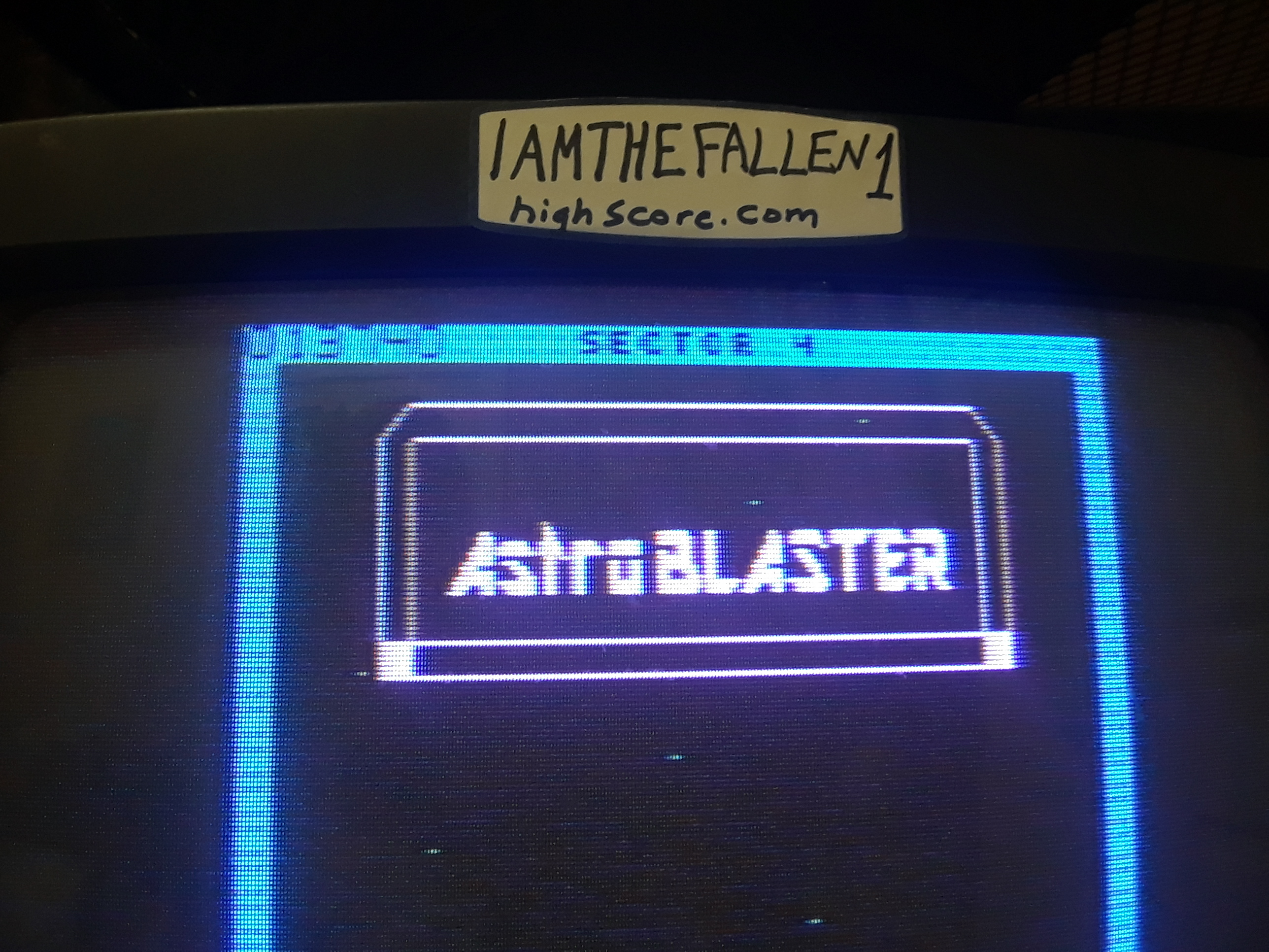 iamthefallen1: Astro Blaster [Easy/5 Lives] (Atari 7800) 13,740 points on 2019-01-31 19:48:49