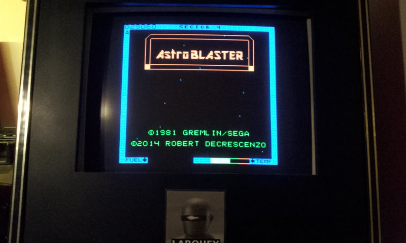 Larquey: Astro Blaster [Easy] (Atari 7800 Emulated) 29,060 points on 2017-12-10 12:06:30