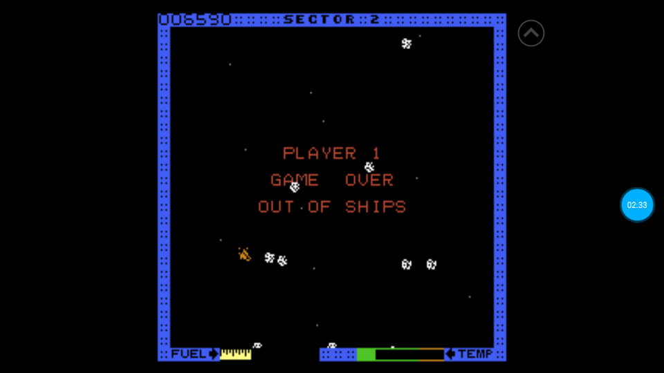 omargeddon: Astro Blaster [Easy] (Atari 7800 Emulated) 6,590 points on 2018-07-08 17:48:52