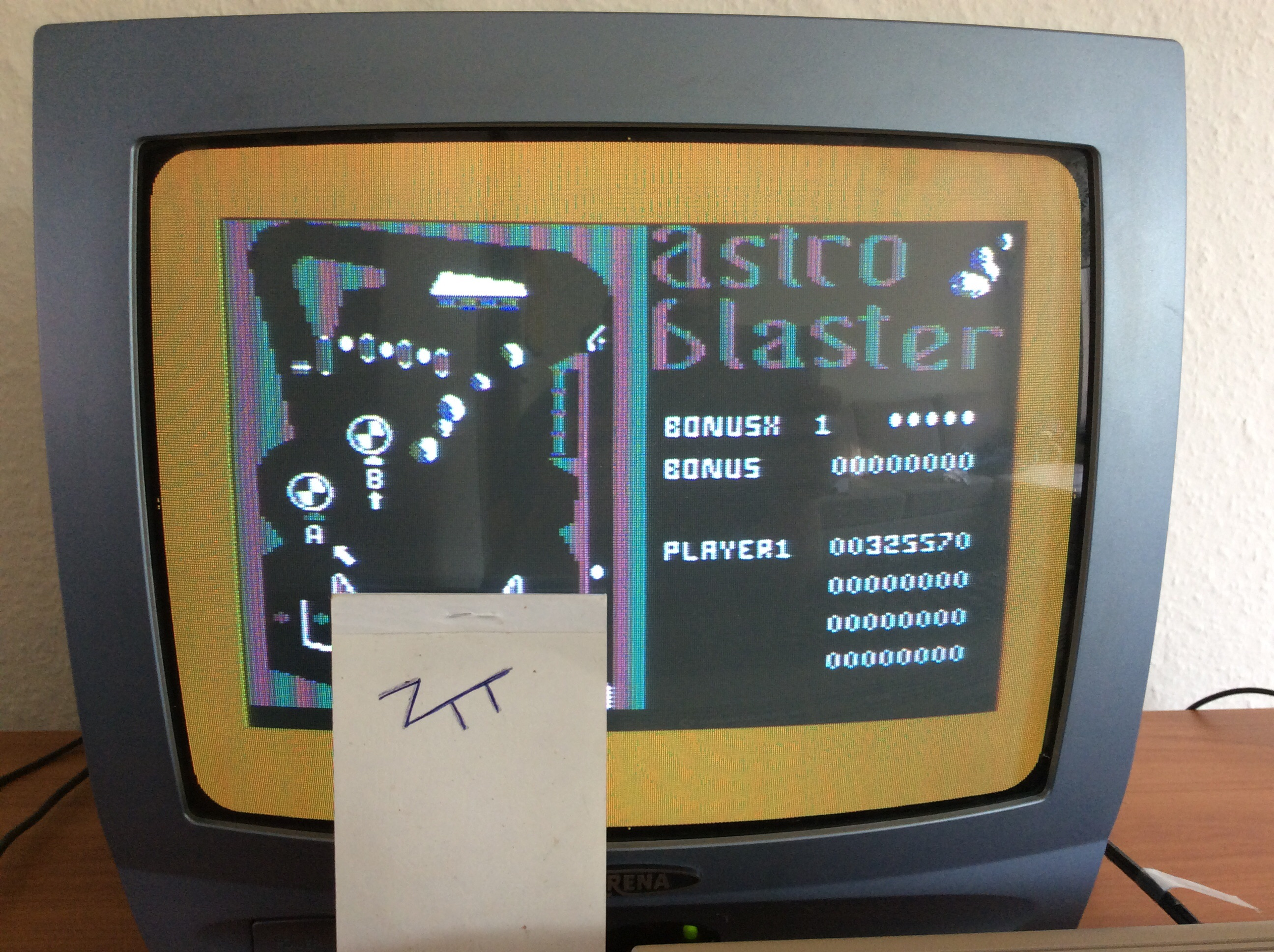 Frankie: Astro Blaster [Pinball] (Commodore 64) 325,570 points on 2016-05-29 04:18:52