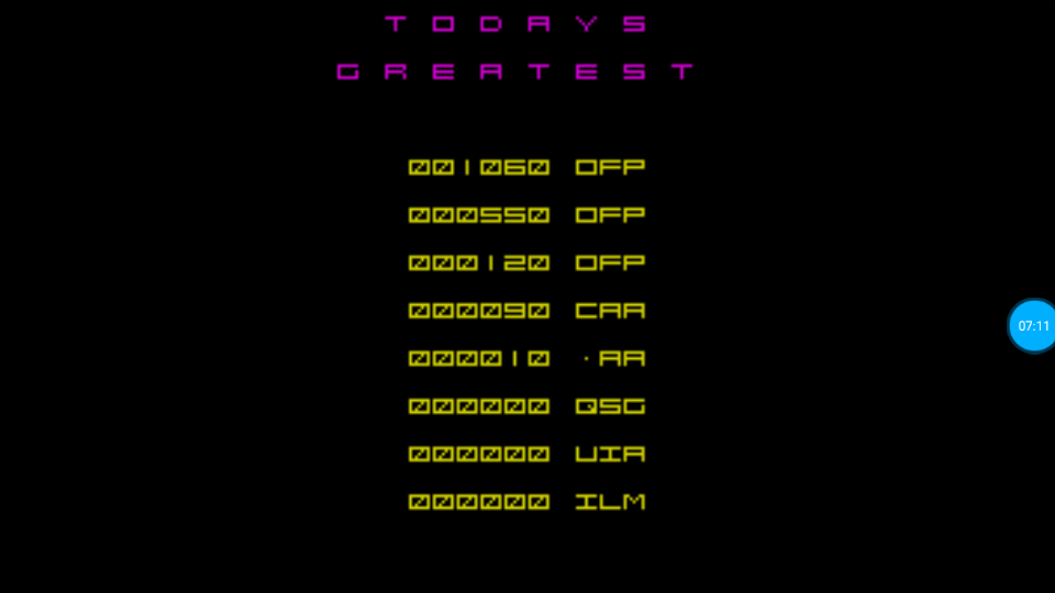 omargeddon: Astro Blaster (ZX Spectrum Emulated) 1,060 points on 2018-07-10 13:31:26