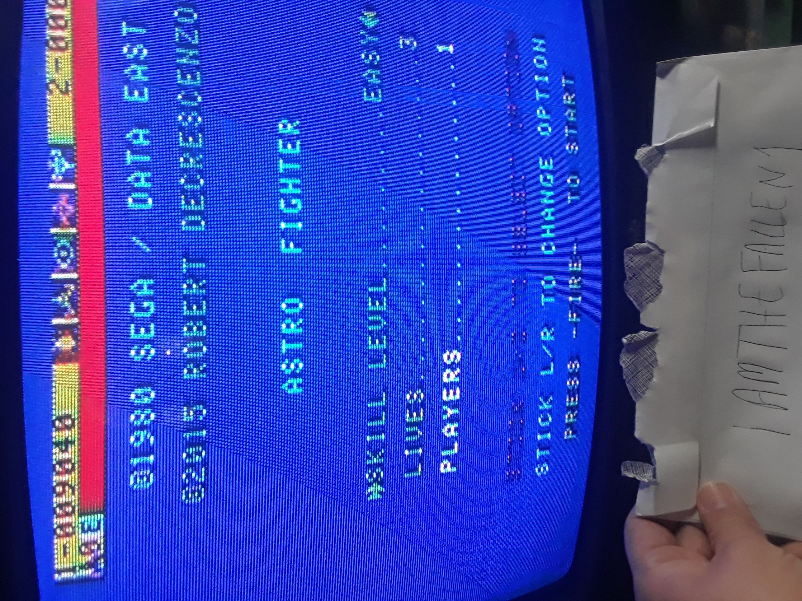 iamthefallen1: Astro Fighter [Easy / 3 Lives] (Atari 7800) 9,040 points on 2019-04-11 22:31:56