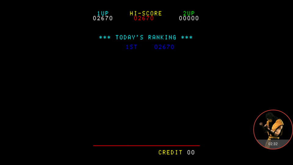 omargeddon: Astro Invader (Arcade Emulated / M.A.M.E.) 2,670 points on 2018-01-06 15:27:31