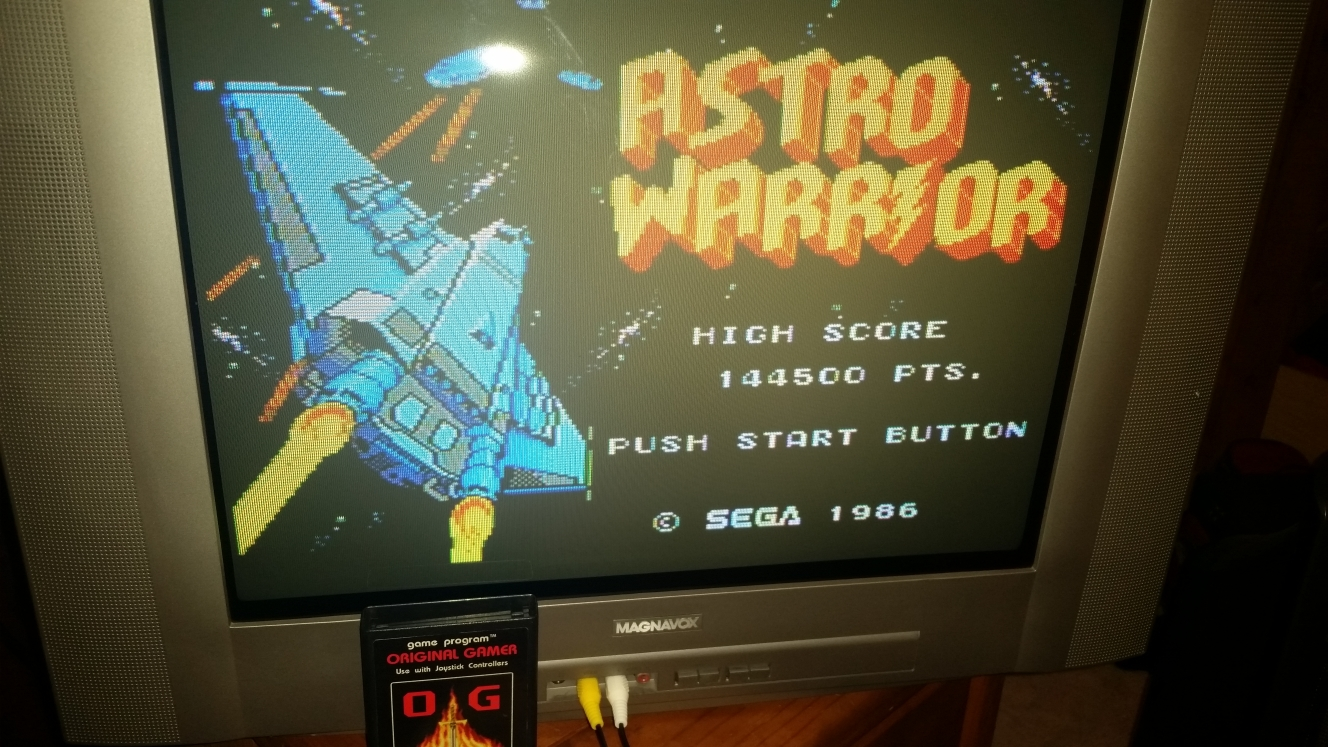 Astro Warrior 144,500 points