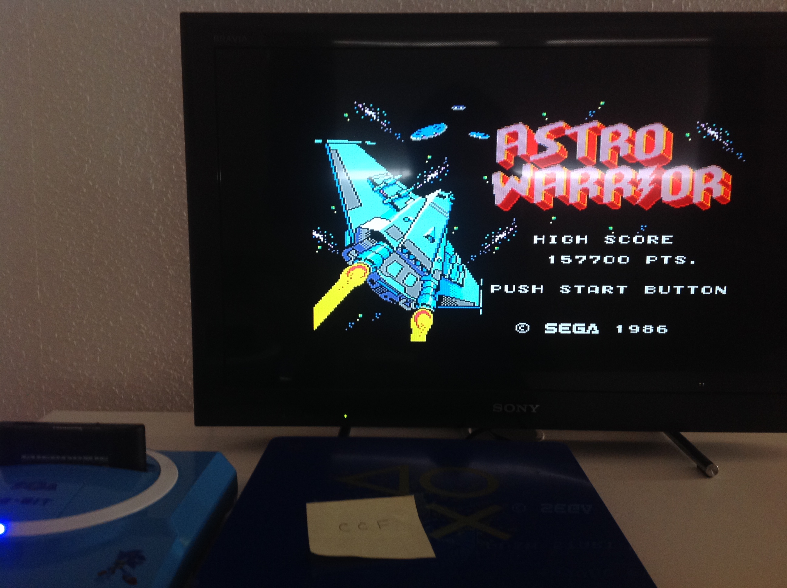 CoCoForest: Astro Warrior (Sega Master System) 157,700 points on 2018-07-24 04:38:53