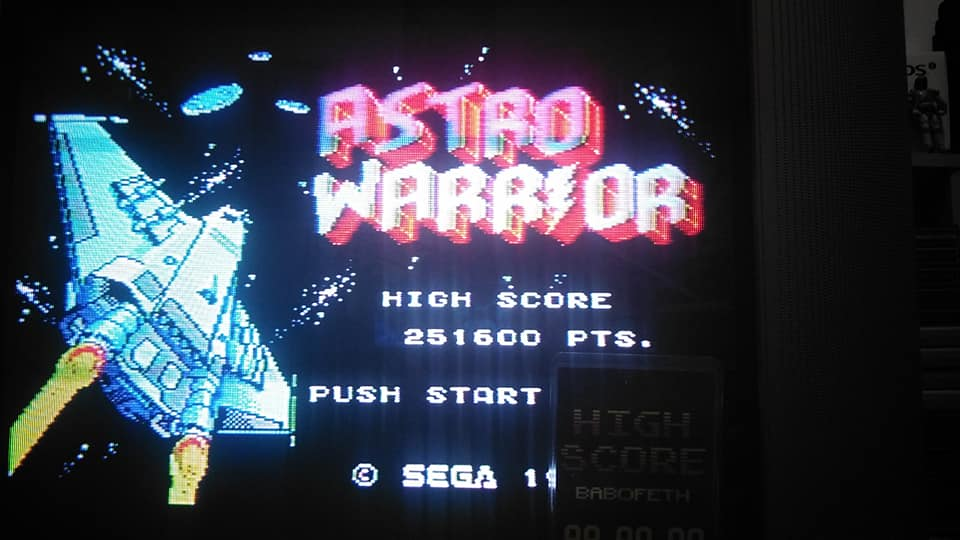 Astro Warrior 251,600 points