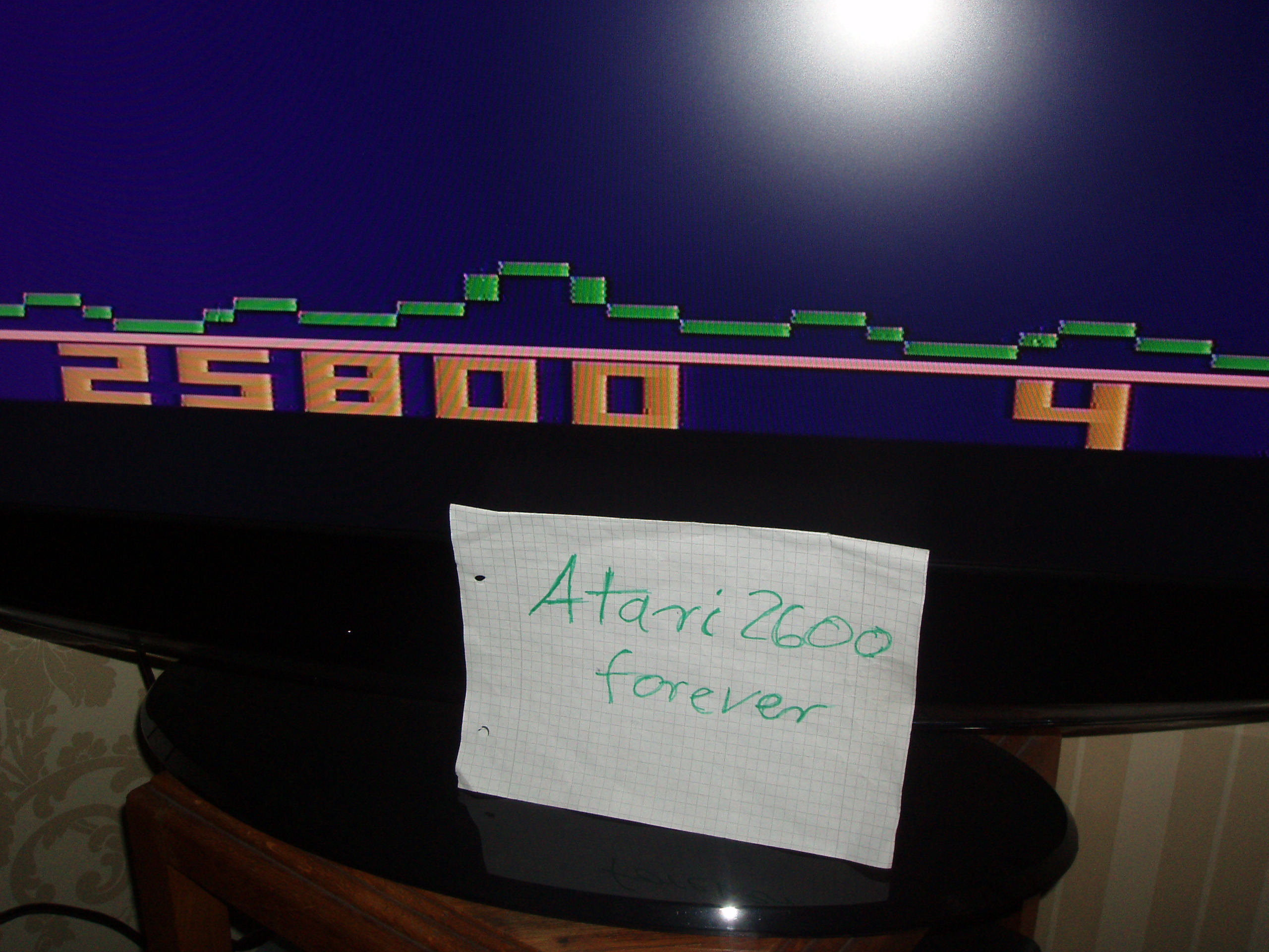 atari2600forever: Astroblast (Atari 2600 Novice/B) 25,800 points on 2016-11-02 04:36:22