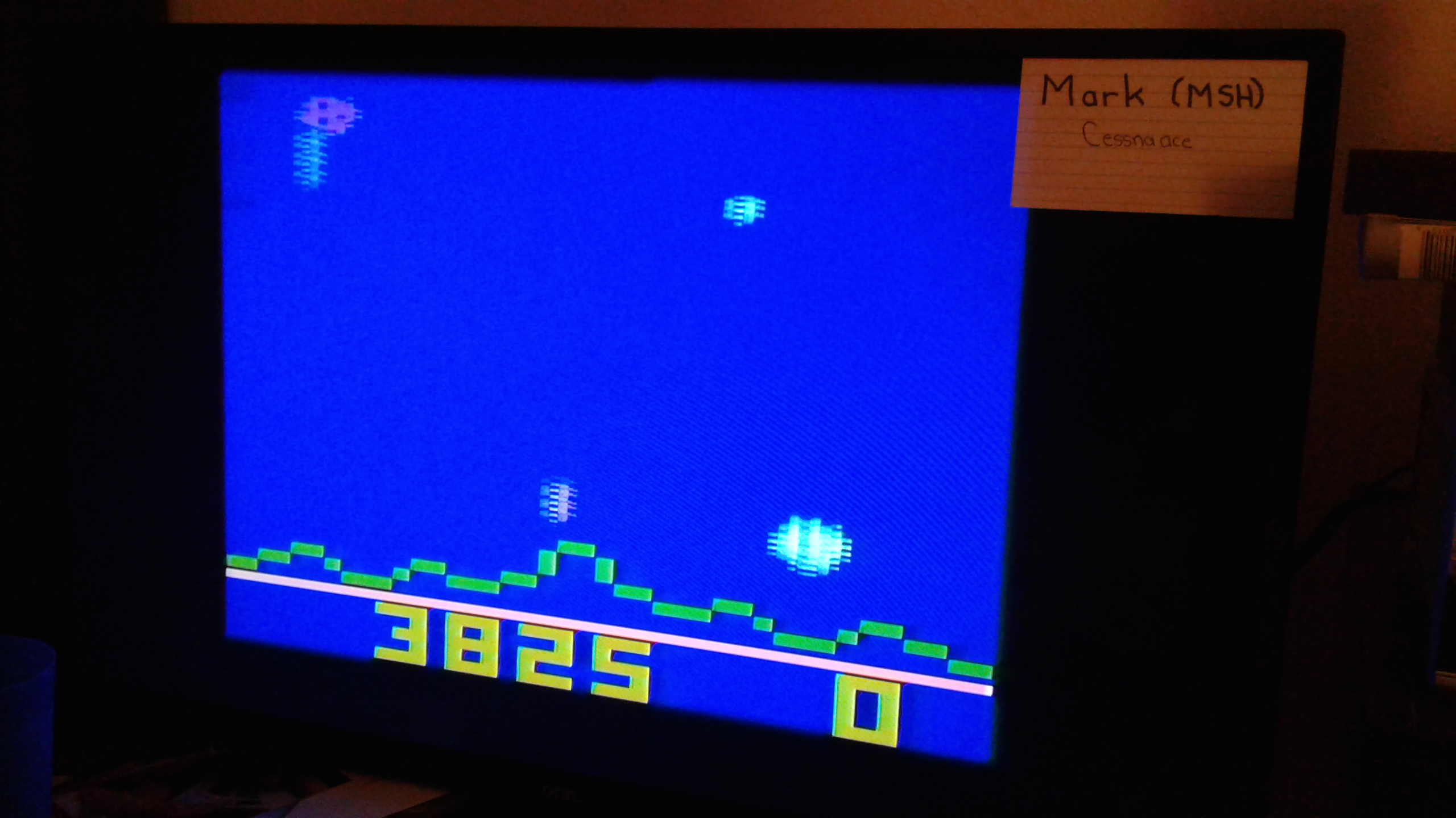 Mark: Astroblast (Atari 2600 Novice/B) 3,825 points on 2020-06-09 02:04:46