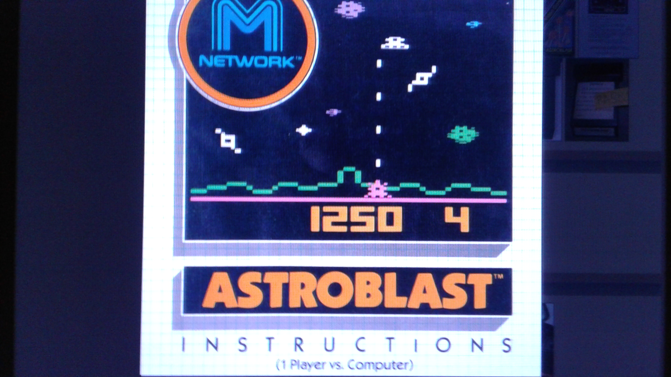 Mark: Astroblast (Atari 2600 Emulated Novice/B Mode) 3,220 points on 2019-03-23 03:42:12