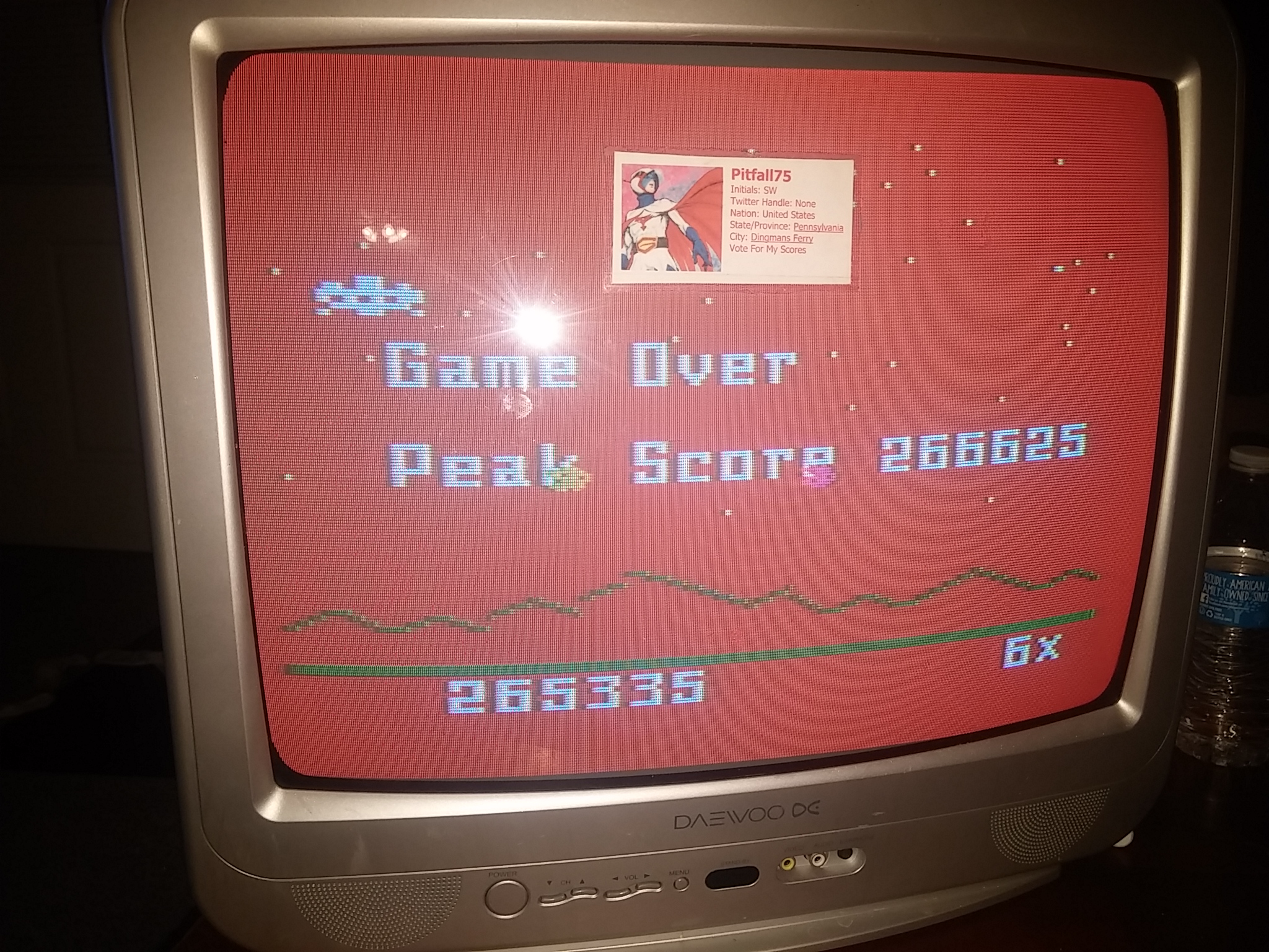 Astrosmash [Final Score] 265,335 points