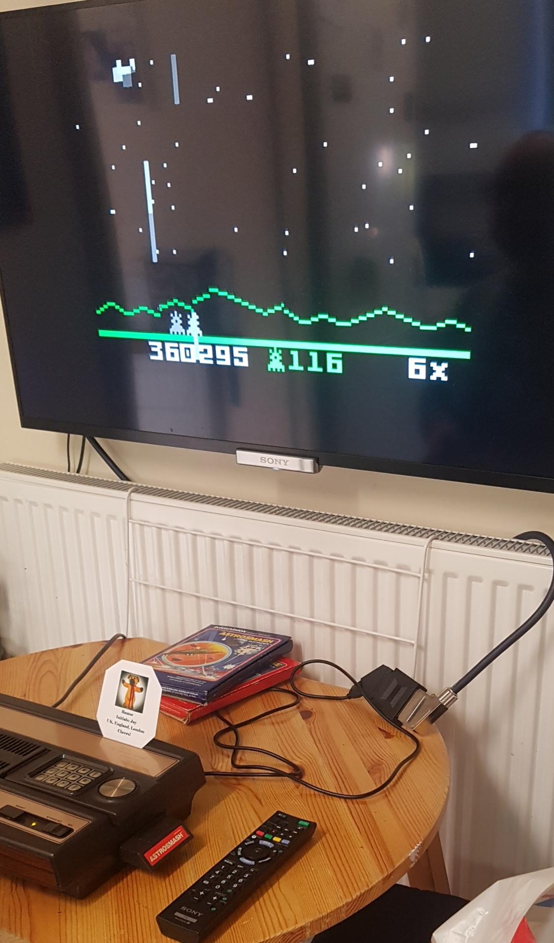 Astrosmash [Peak Score] 360,295 points