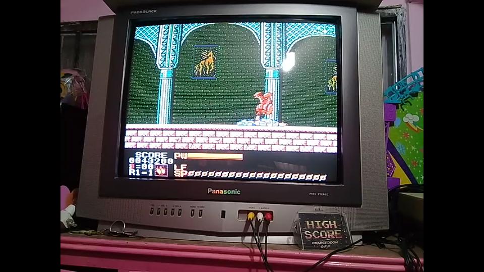 omargeddon: Astyanax (NES/Famicom) 43,200 points on 2019-01-13 13:43:54