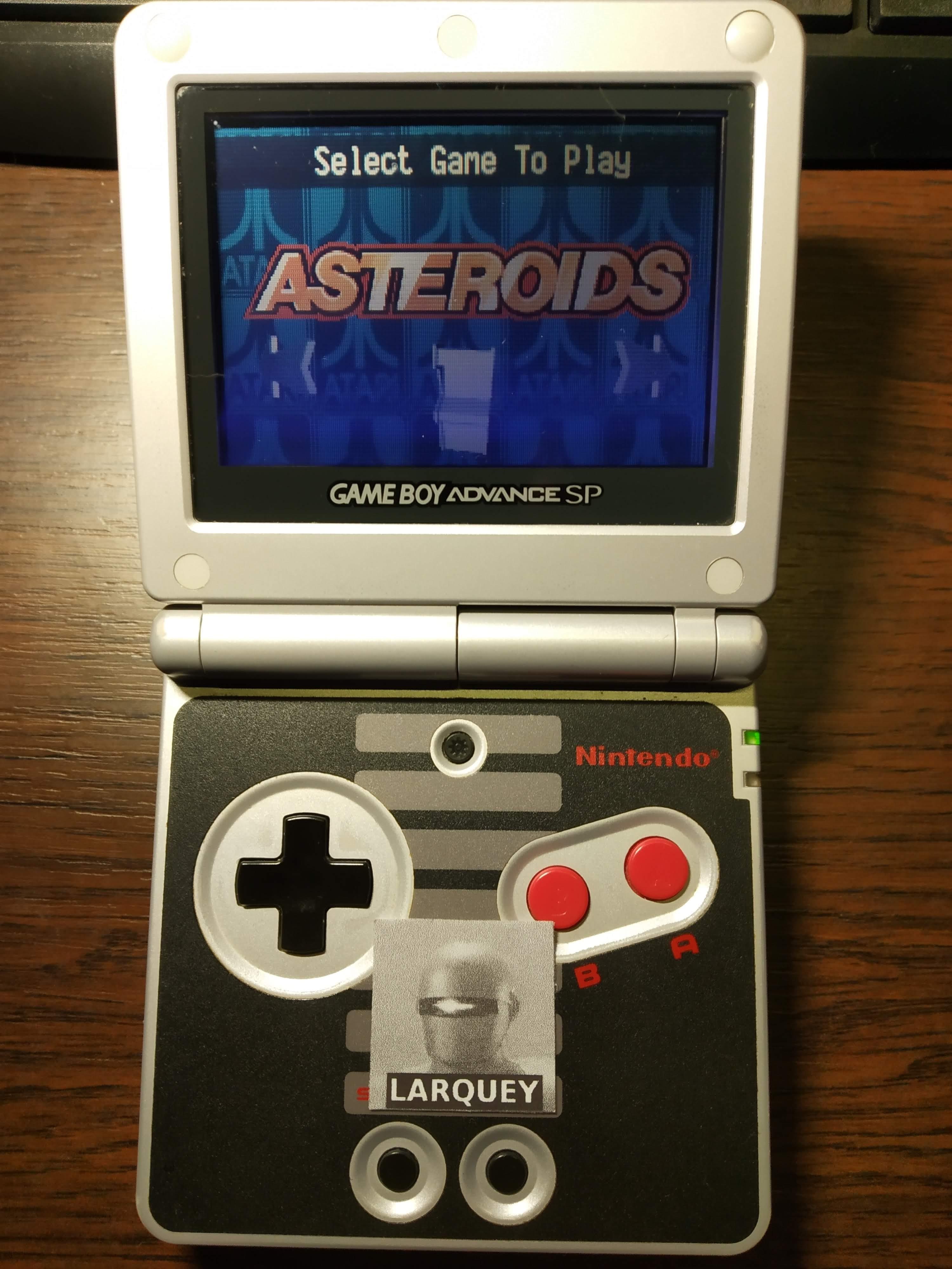 Larquey: Atari Anniversary Advance: Asteroids (GBA) 19,960 points on 2020-01-06 12:08:06