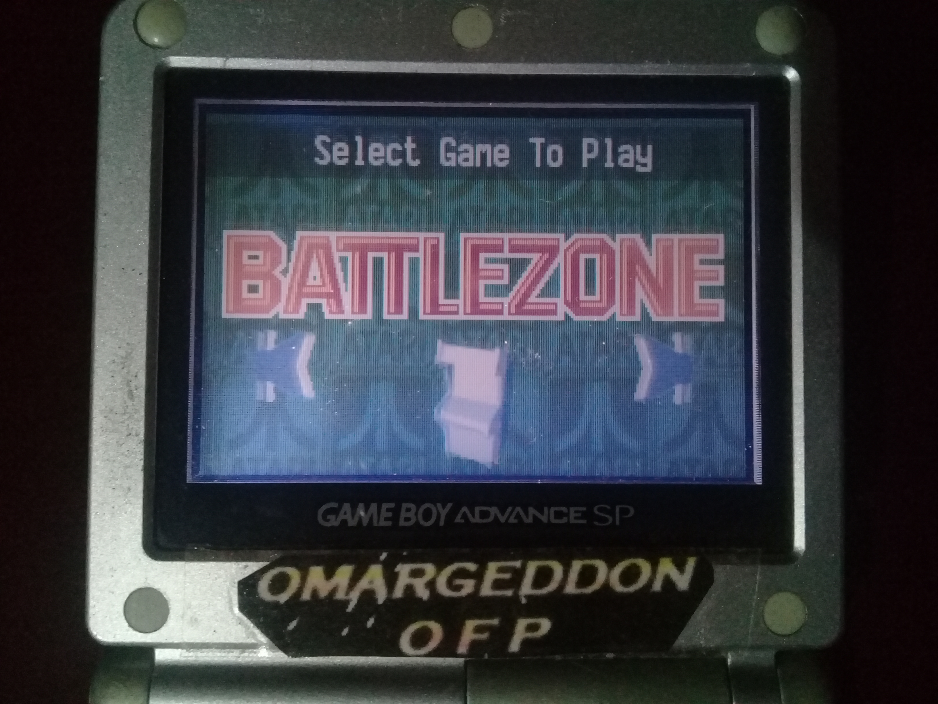 omargeddon: Atari Anniversary Advance: Battlezone (GBA) 30,000 points on 2019-10-27 20:58:01