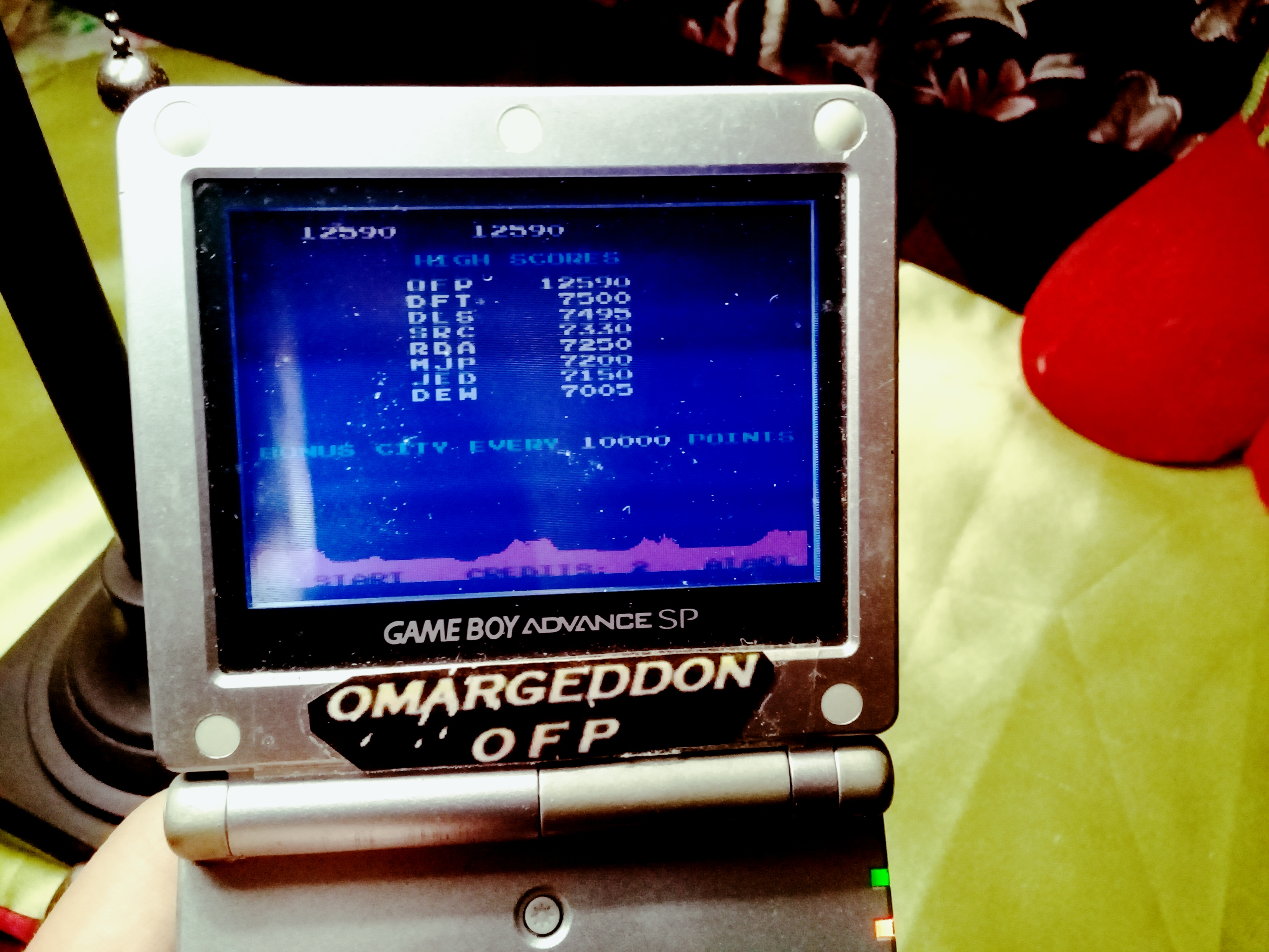 omargeddon: Atari Anniversary Advance: Missile Command (GBA) 12,590 points on 2020-02-02 20:06:42