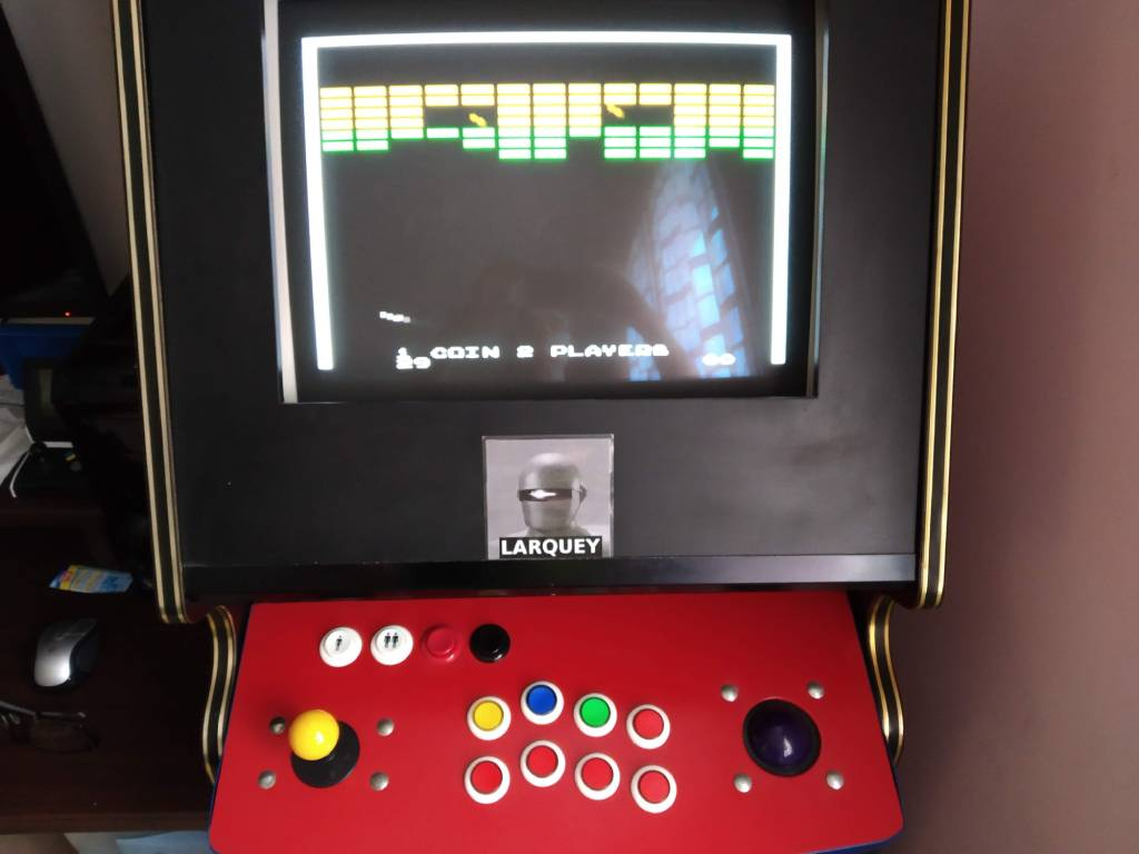 Larquey: Atari Anniversary Advance: Super Breakout (GBA Emulated) 29 points on 2019-08-19 13:18:32