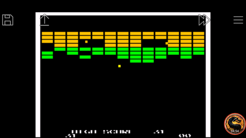 omargeddon: Atari Anniversary Advance: Super Breakout (GBA Emulated) 31 points on 2019-10-12 21:57:49
