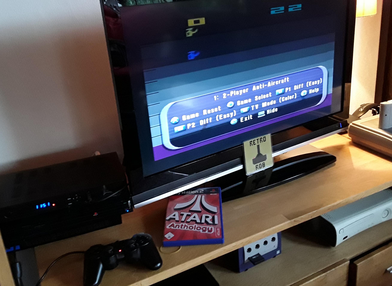 RetroRob: Atari Anthology: Air-Sea Battle [Game 1B] (Playstation 2) 22 points on 2019-01-05 04:56:54