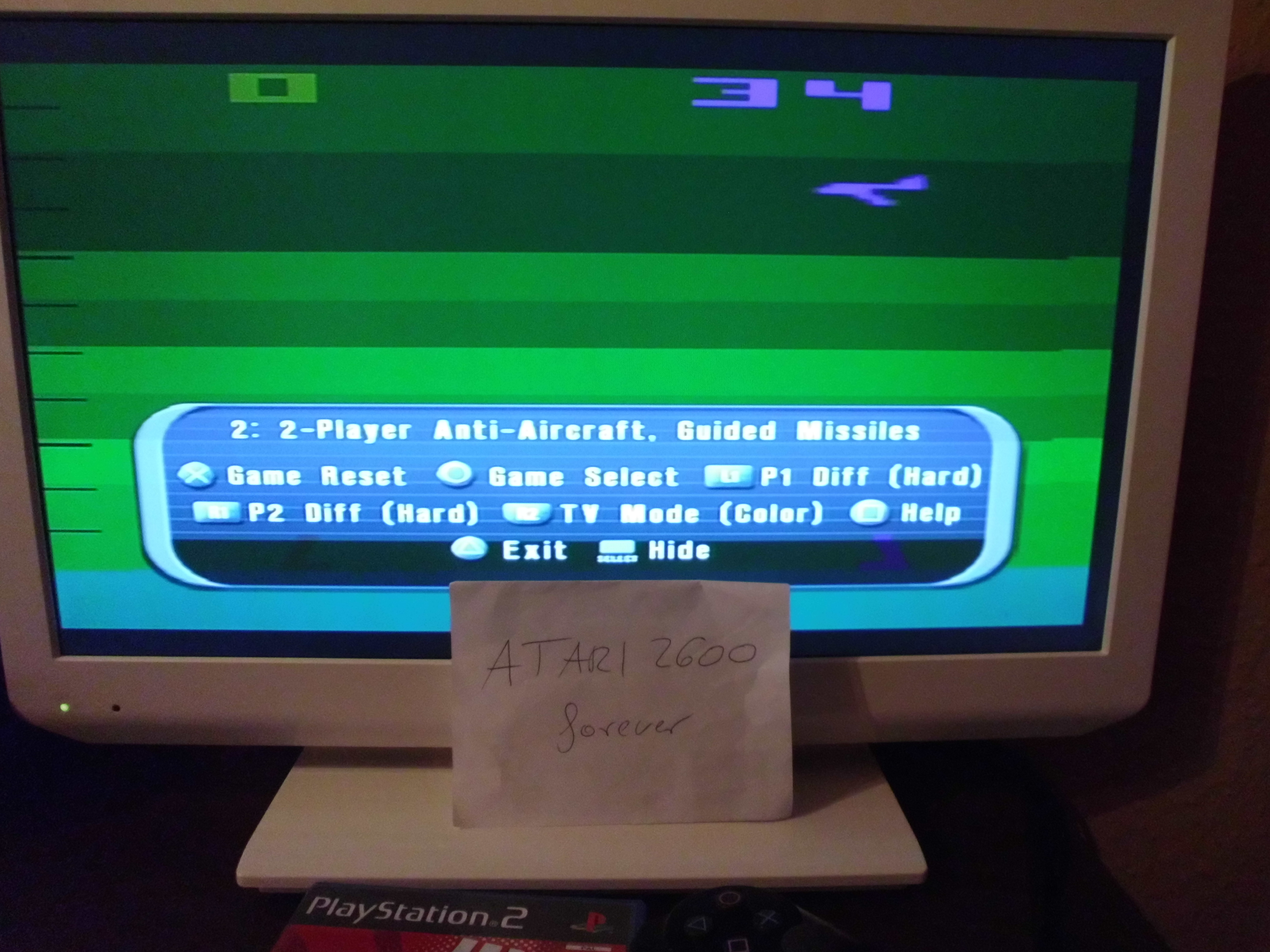 atari2600forever: Atari Anthology: Air-Sea Battle [Game 2A] (Playstation 2) 34 points on 2018-03-26 09:02:15