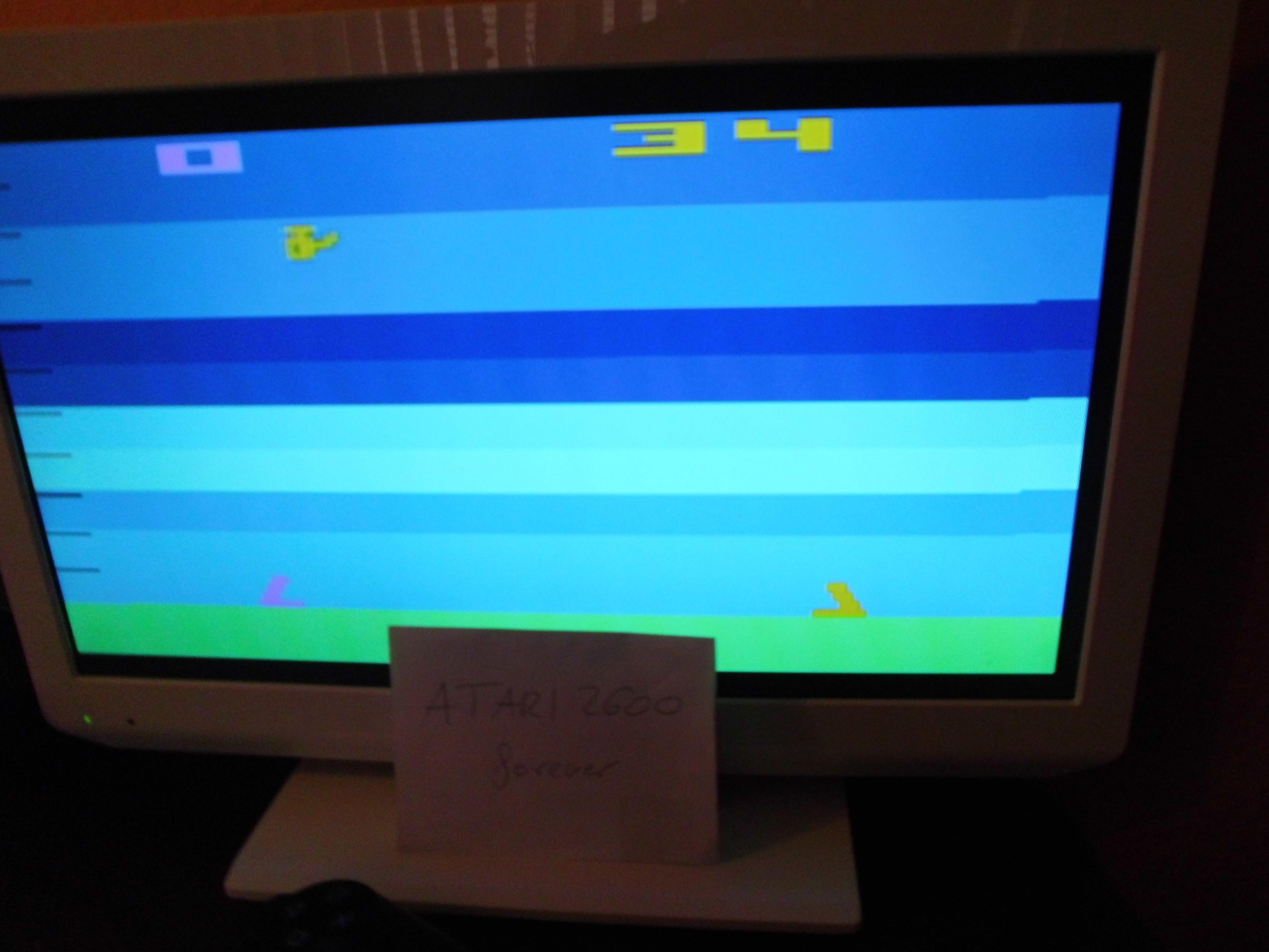 Atari Anthology: Air-Sea Battle [Game 2B] 34 points