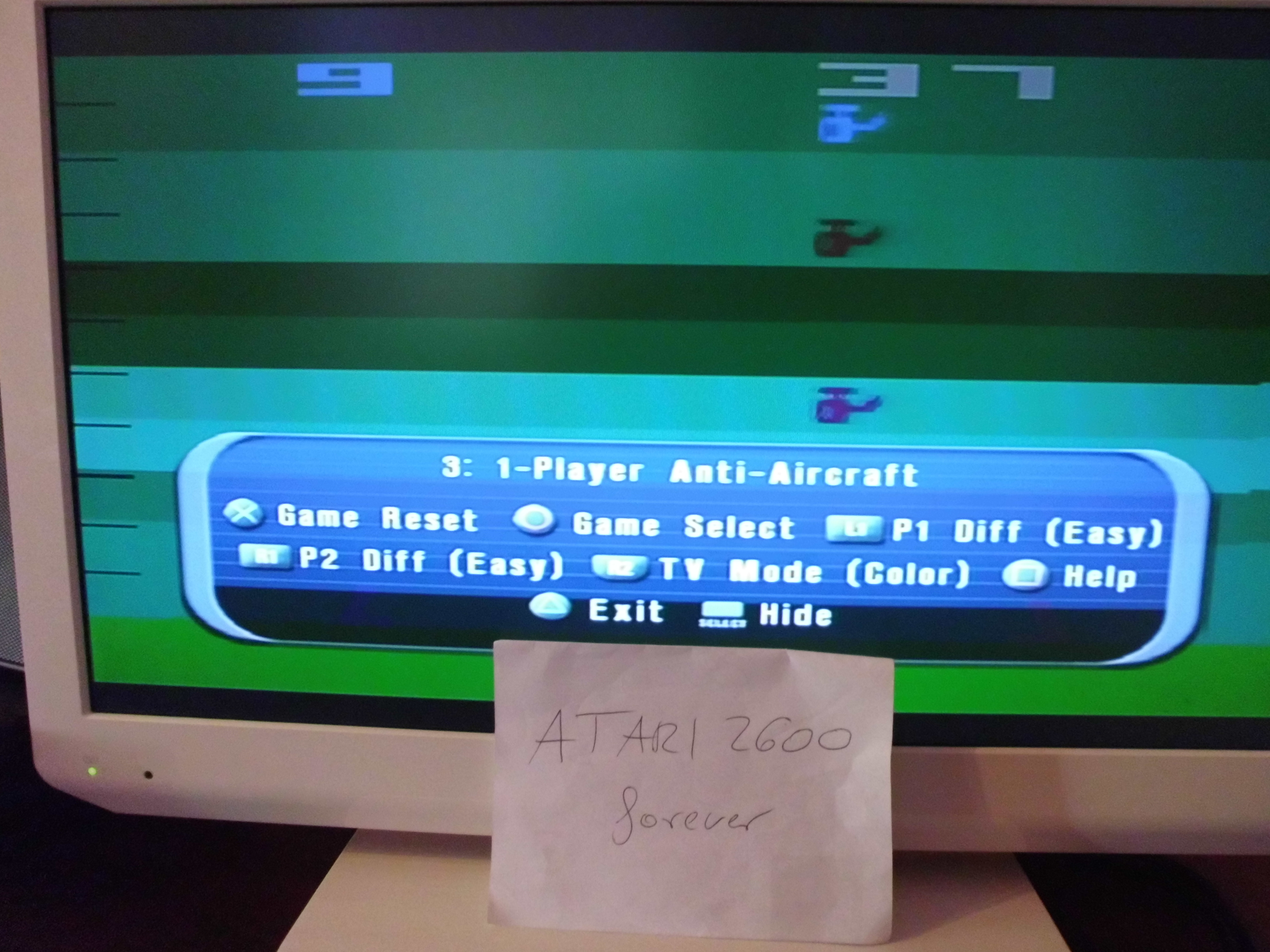 atari2600forever: Atari Anthology: Air-Sea Battle [Game 3B: Point Difference] (Playstation 2) 28 points on 2018-05-14 06:36:28