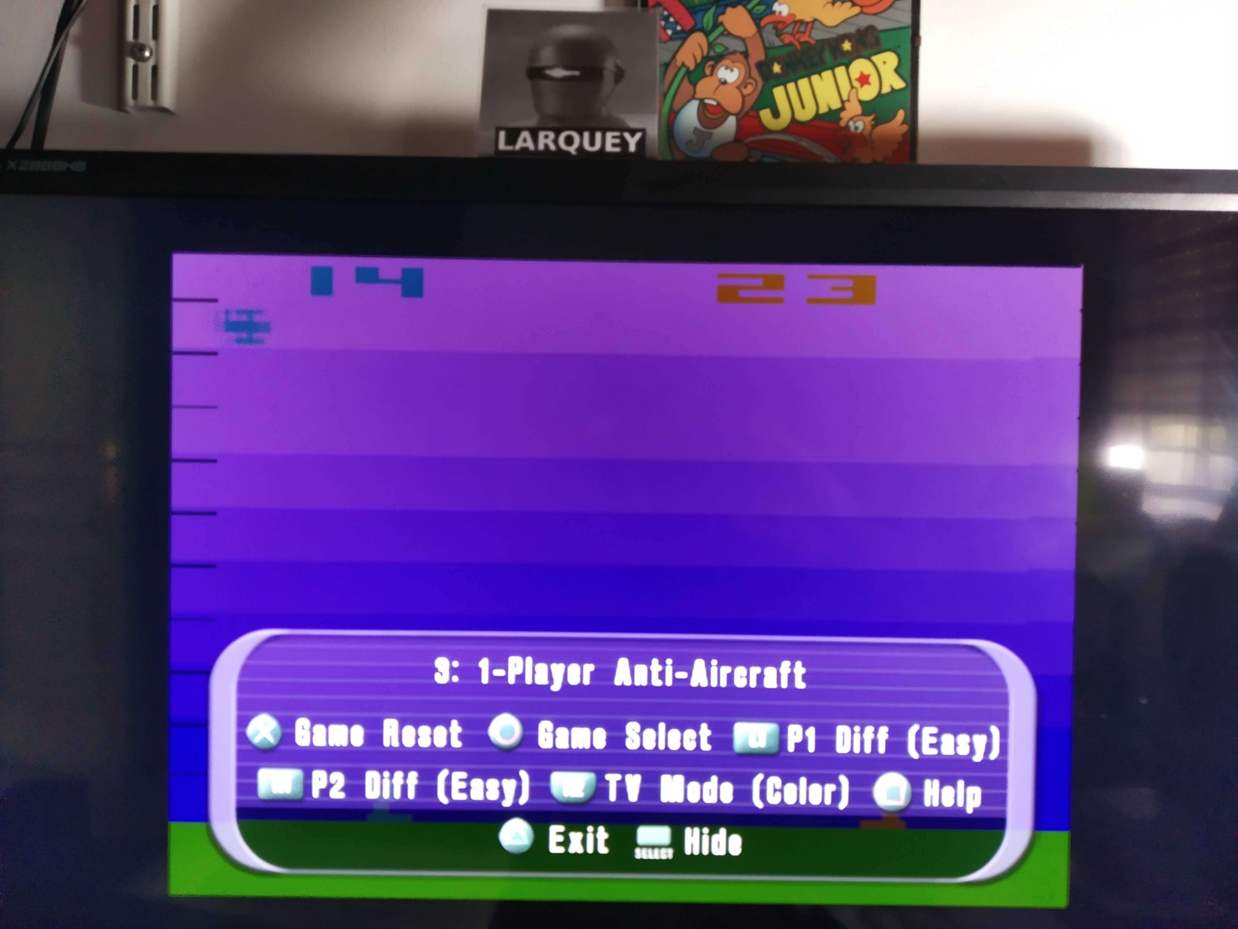 Larquey: Atari Anthology: Air-Sea Battle [Game 3B: Point Difference] (Playstation 2 Emulated) 9 points on 2020-08-05 12:12:56