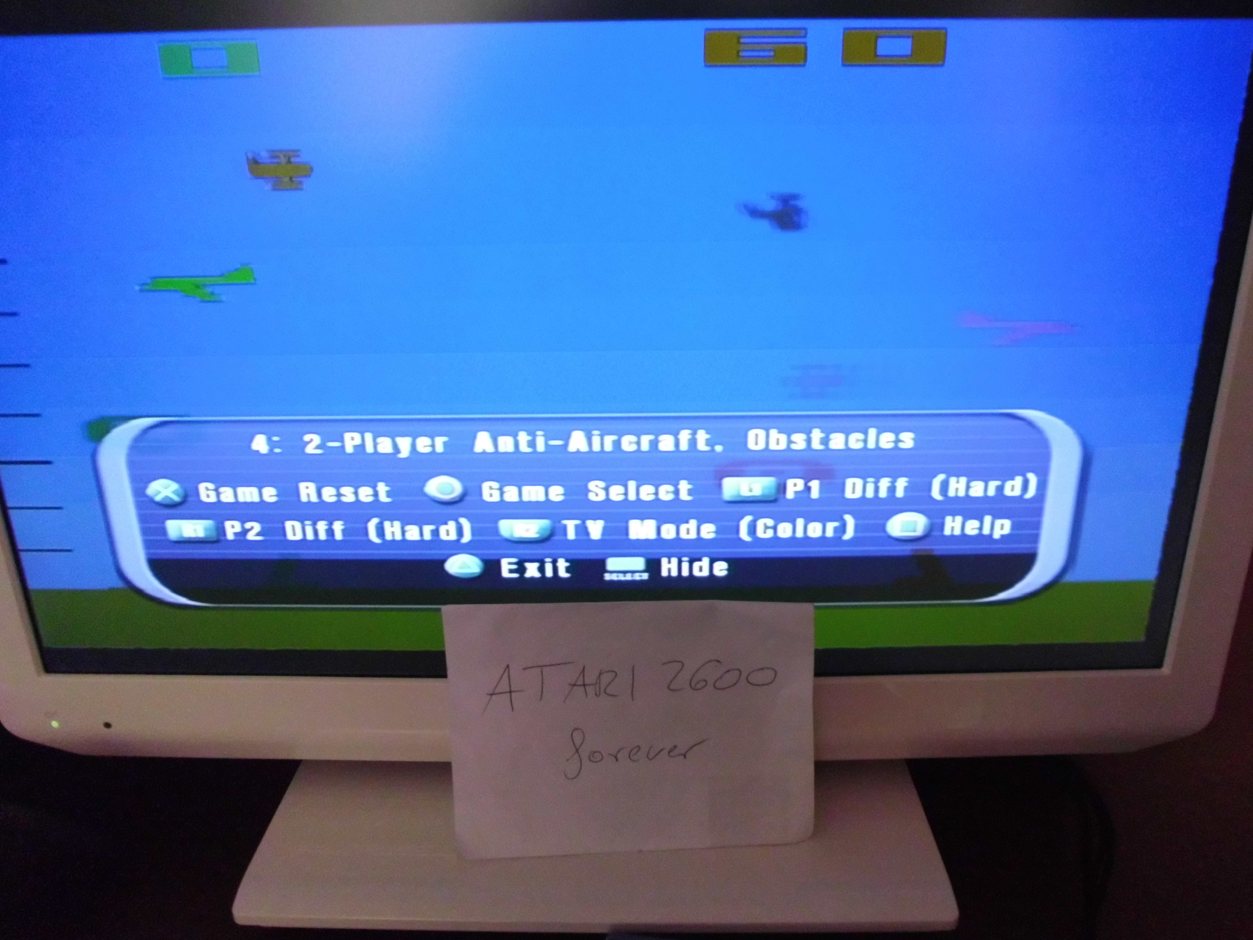 atari2600forever: Atari Anthology: Air-Sea Battle [Game 4A] (Playstation 2) 60 points on 2018-03-29 03:32:53
