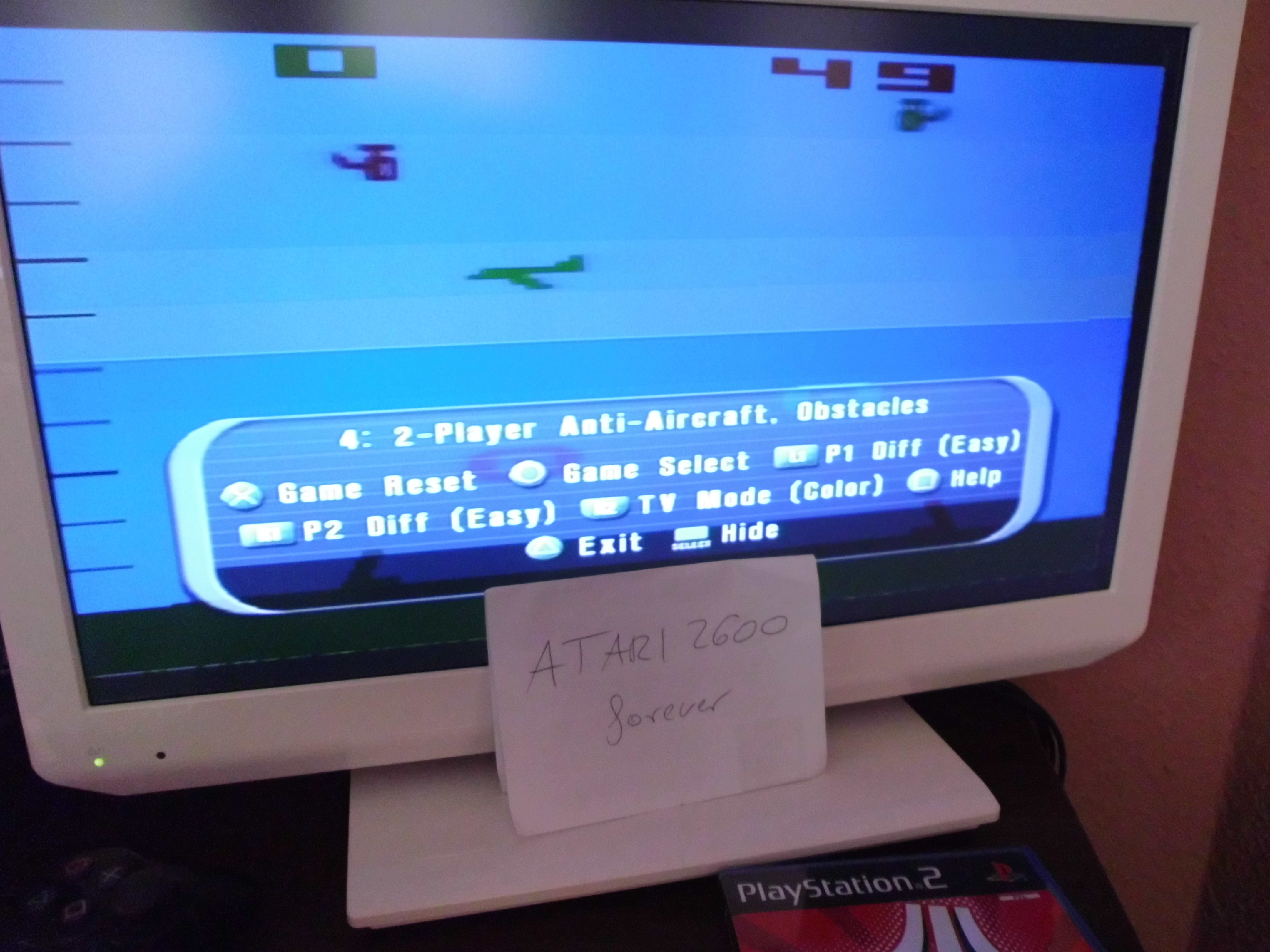 atari2600forever: Atari Anthology: Air-Sea Battle [Game 4B] (Playstation 2) 49 points on 2018-03-29 03:36:03