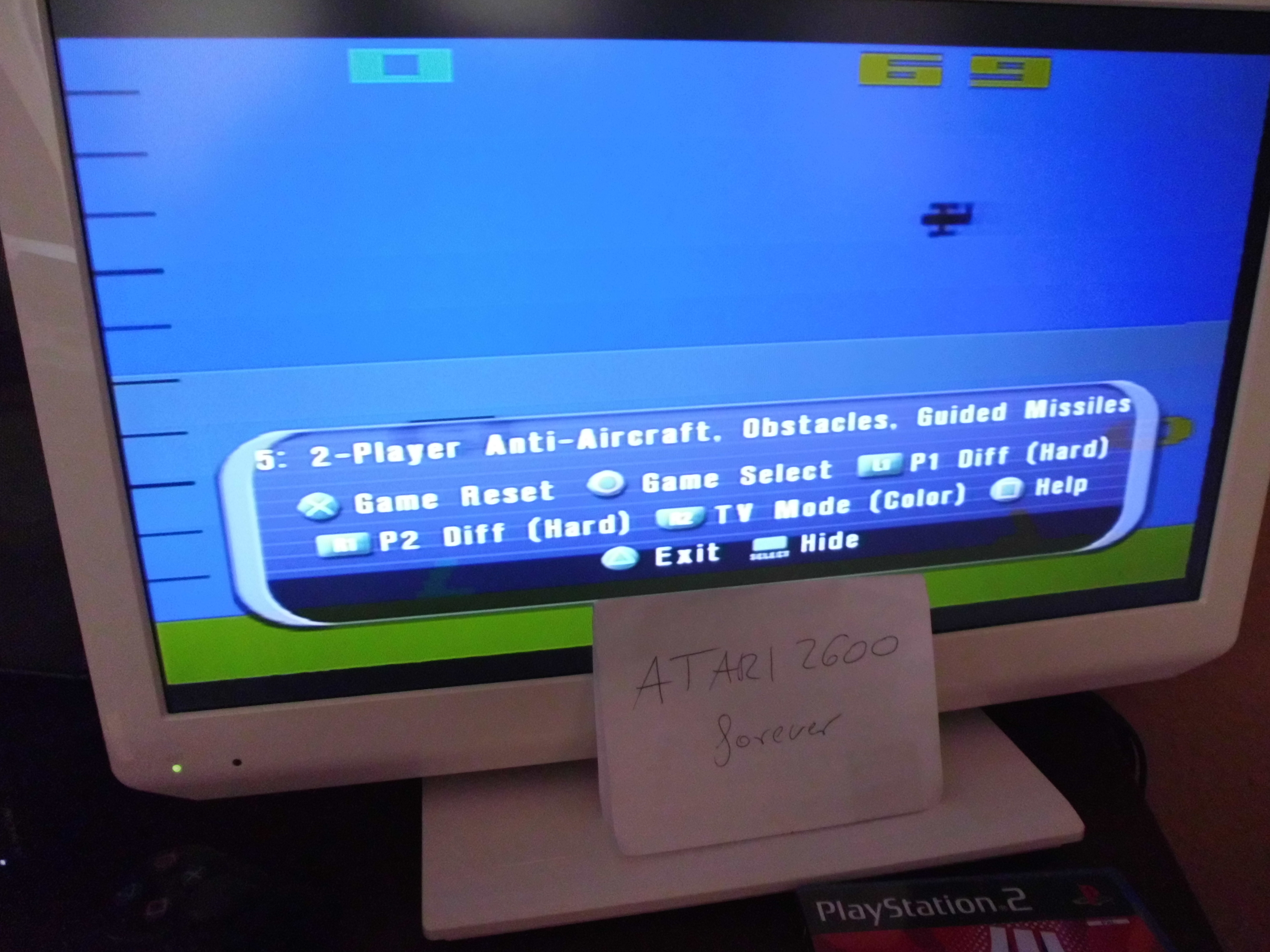 atari2600forever: Atari Anthology: Air-Sea Battle [Game 5A] (Playstation 2) 69 points on 2018-03-29 03:42:48
