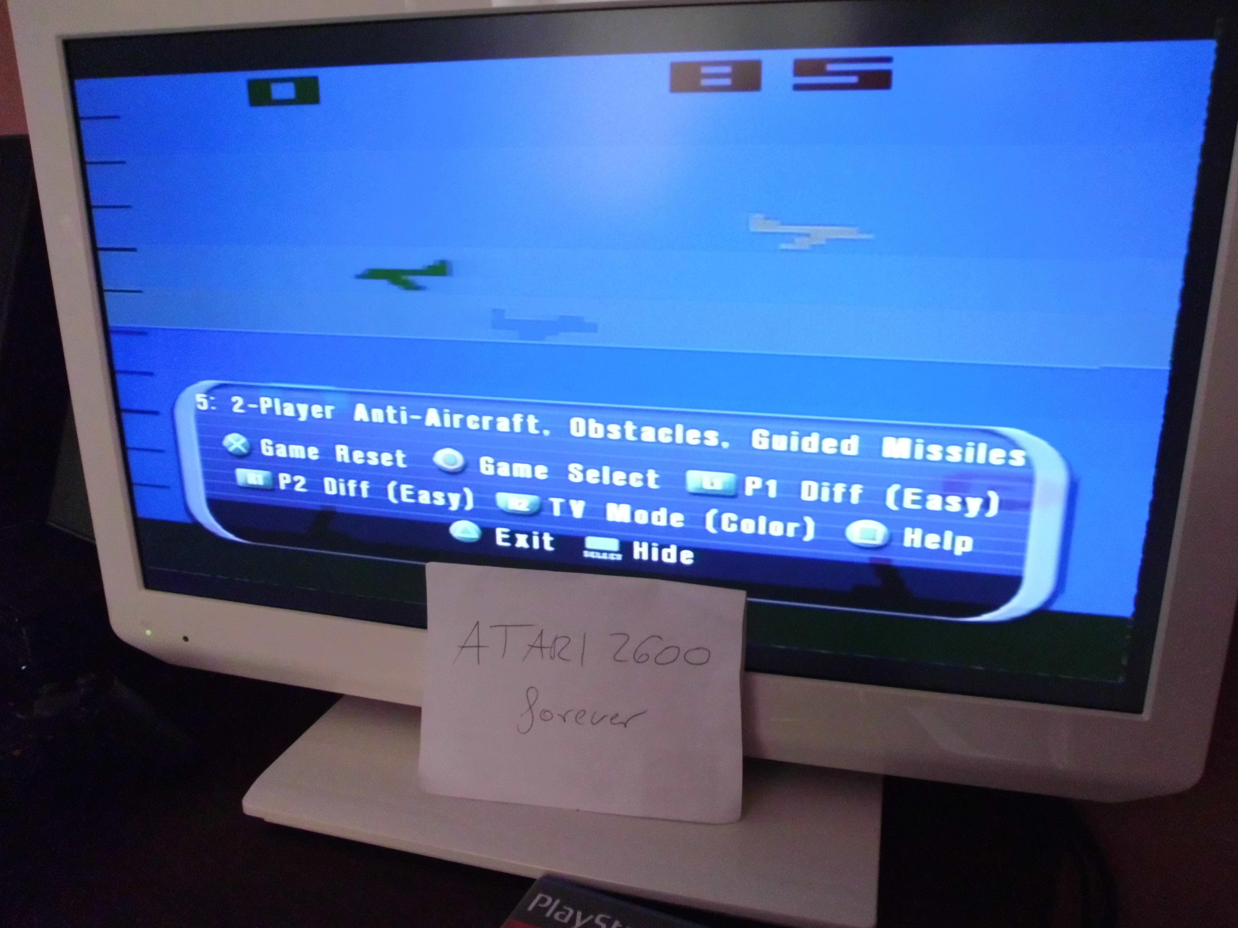 atari2600forever: Atari Anthology: Air-Sea Battle [Game 5B] (Playstation 2) 85 points on 2018-03-29 03:46:00