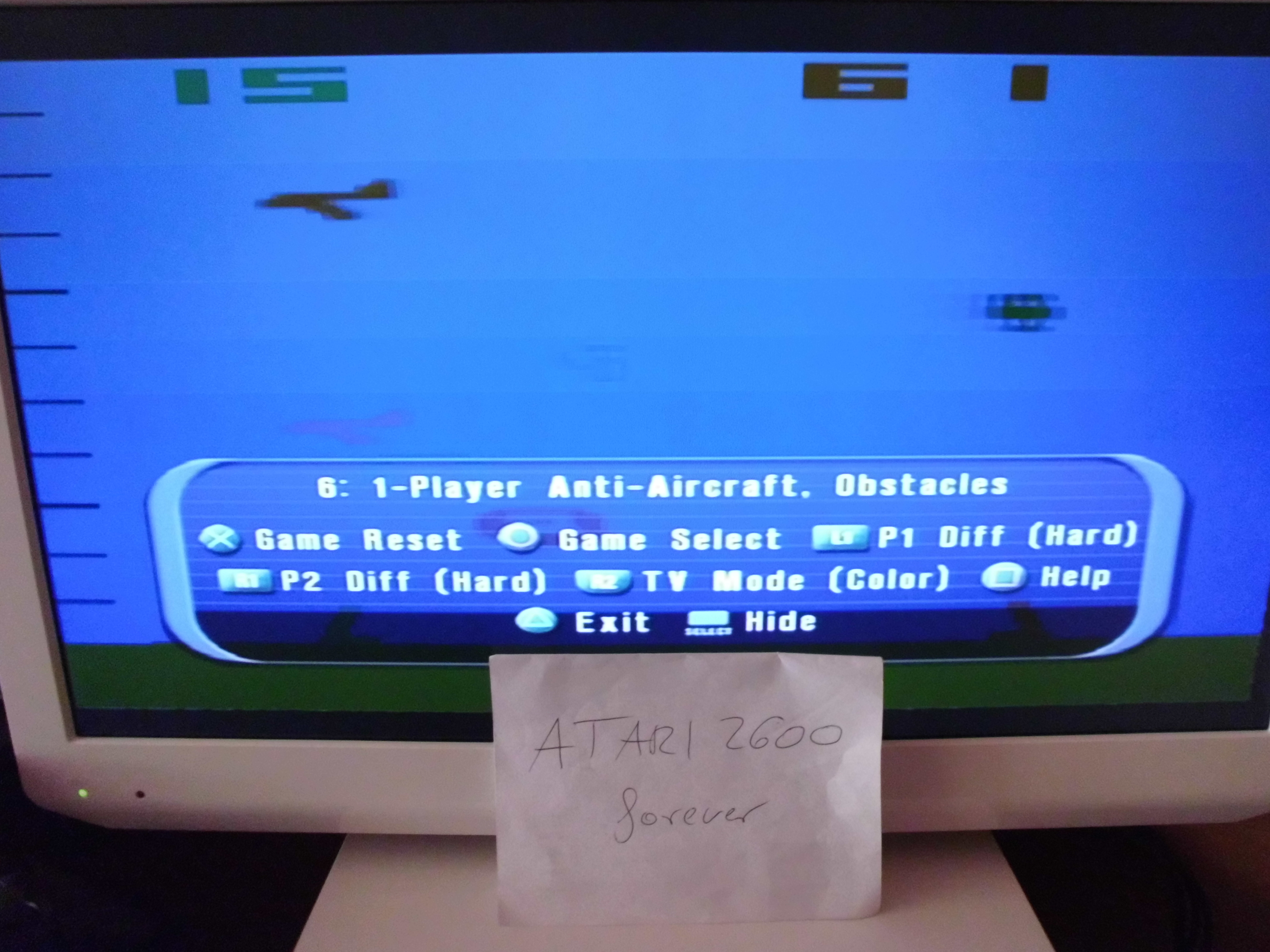 atari2600forever: Atari Anthology: Air-Sea Battle [Game 6A: Point Difference] (Playstation 2) 46 points on 2018-05-04 10:55:40
